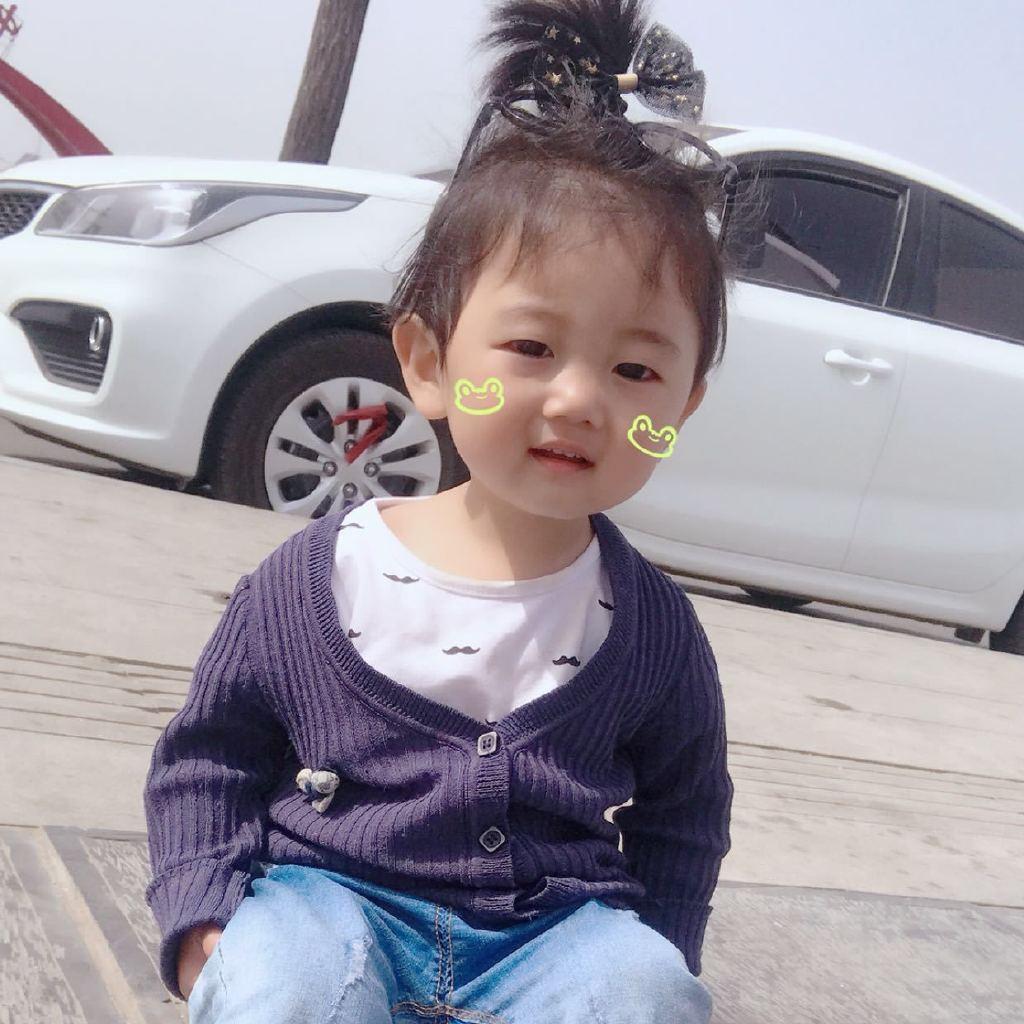 可爱的小孩子哭的照片萌萌