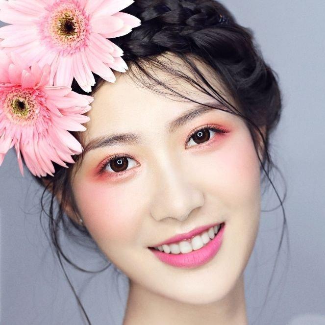 新丝路模特个人化妆培训  变美改造~让你更具明星气质~ #深圳dmk