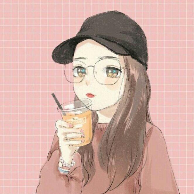 """女生头像[超话]#""""[鲜花][鲜花][.-来自手绘漫画--."""