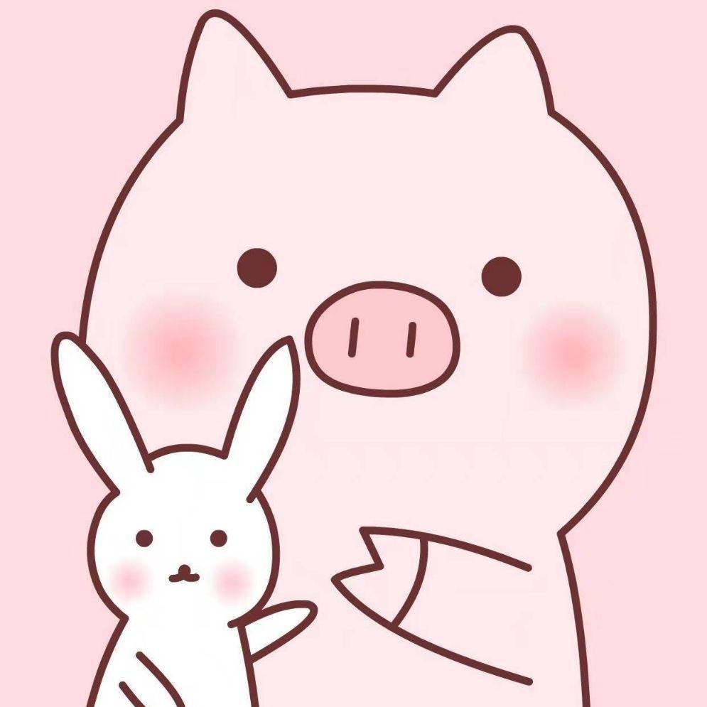 超级可爱头像猪