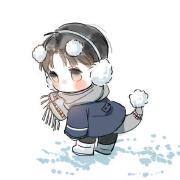 雪地里的小画手