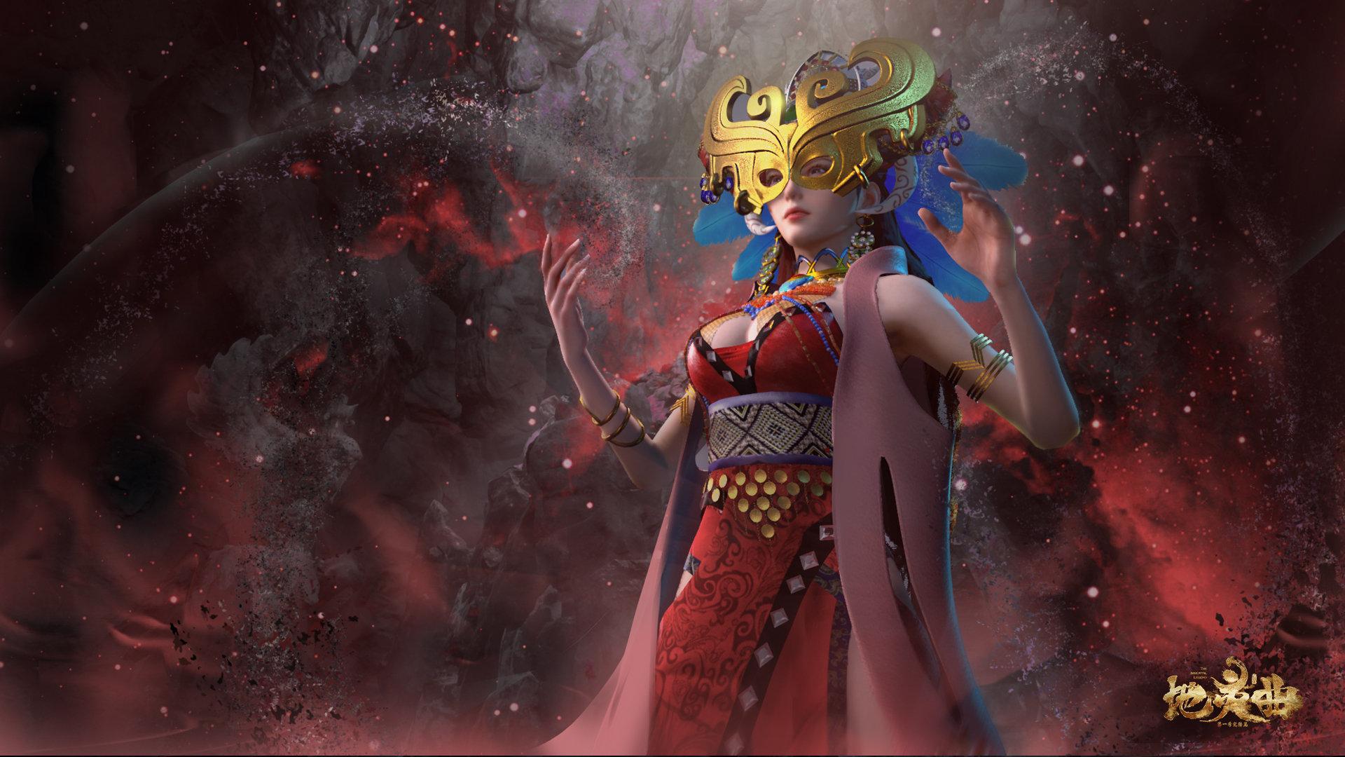 地灵曲楼兰女王高清图片