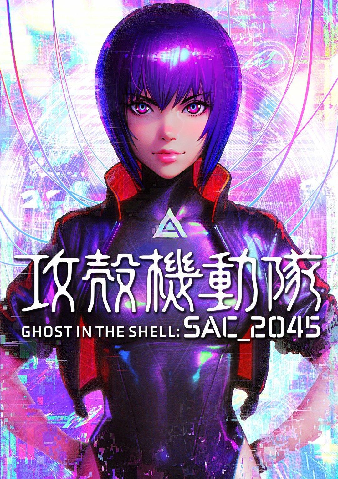 剧场版《攻壳机动队:SAC_2045》2021年上映-