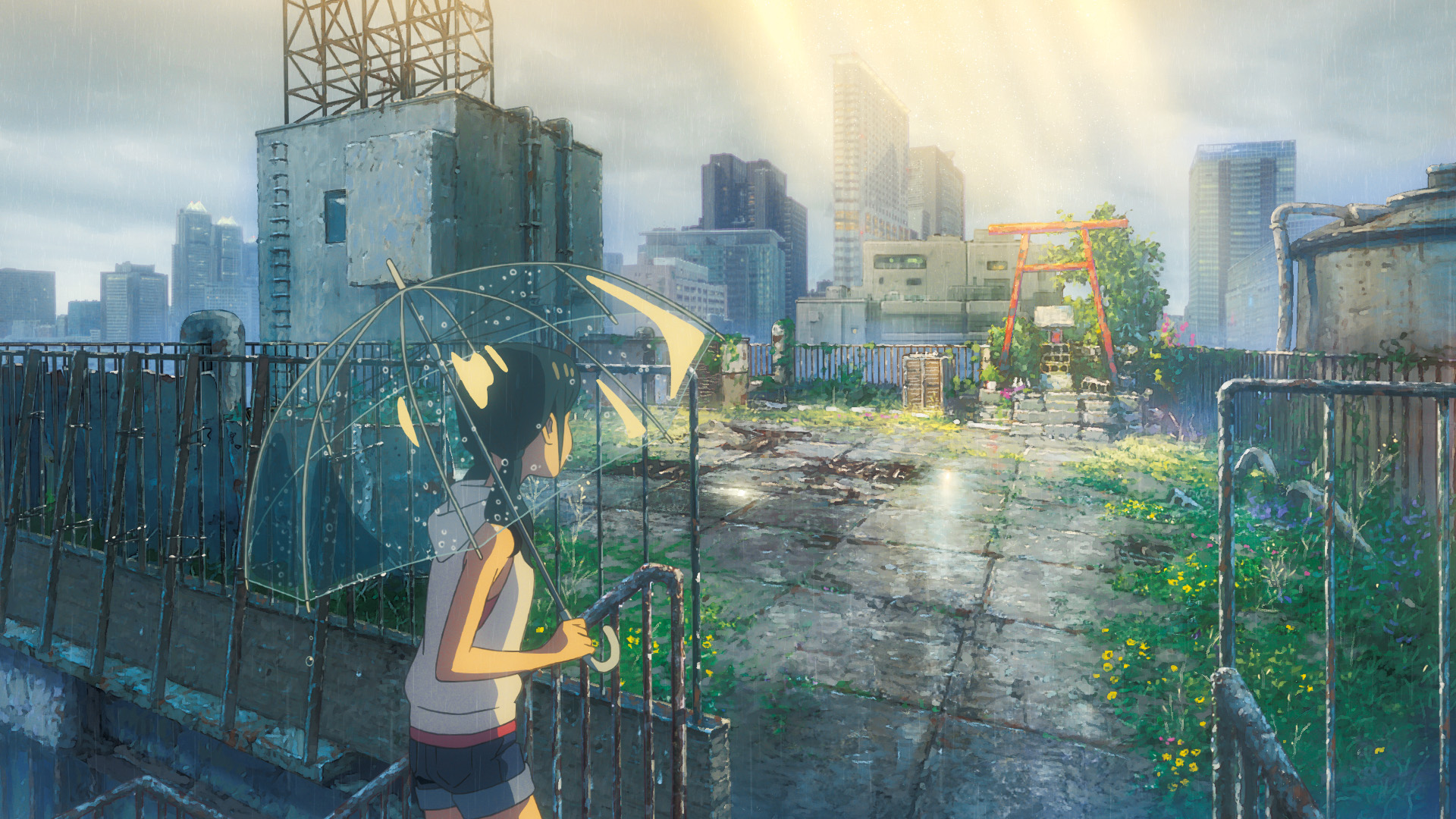 《天气之子》登顶日本2019年电影票房冠军 国内前十过半动画