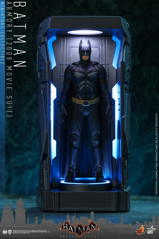 HOT TOYS 蝙蝠侠:阿卡姆骑士 Batman: Arkham Knight BATMAN: ARKHAM KNIGHT Batman Armory Collectibleo