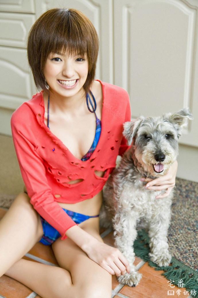 日本清纯少女偶像级人物南明奈写真作品