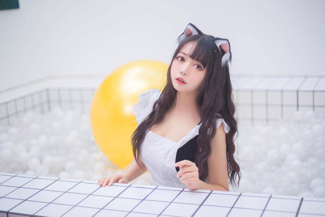 黑猫猫OvO NO.004 海洋球喵 (1)