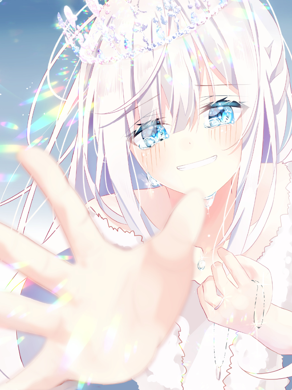 【P站画师】少女的眼泪!日本画师結城ゆき的插画作品- ACG17.COM