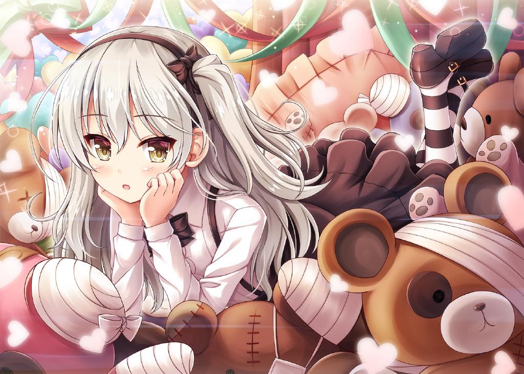 [P站美图]银发无口萝莉!《少女与战车》岛田爱里寿壁纸特辑