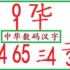 数码汉字_未来的文字