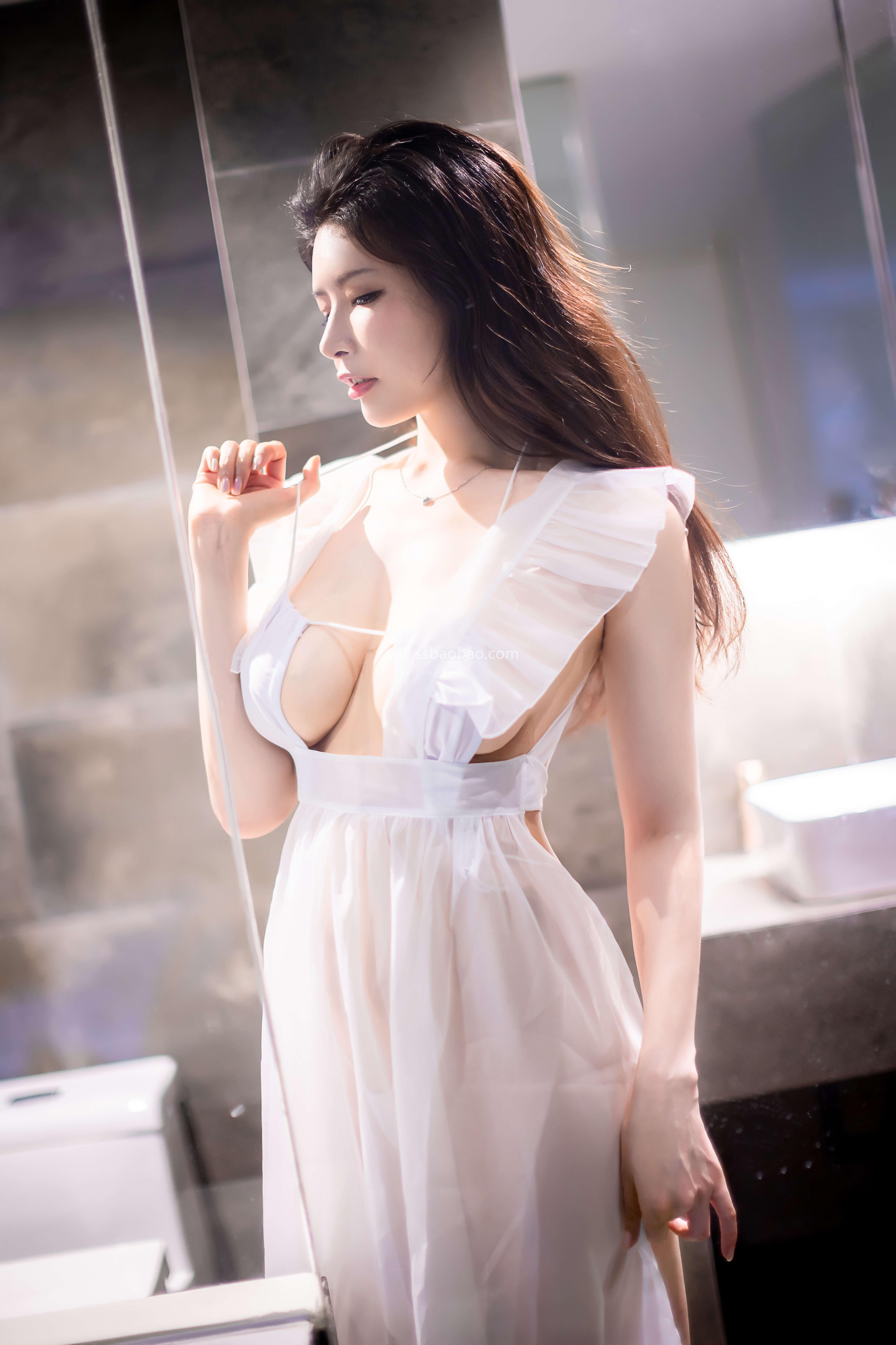 秋和柯基后期作品 H024 透明围裙2-湿漉漉的浴室[59P-1.41GB]02