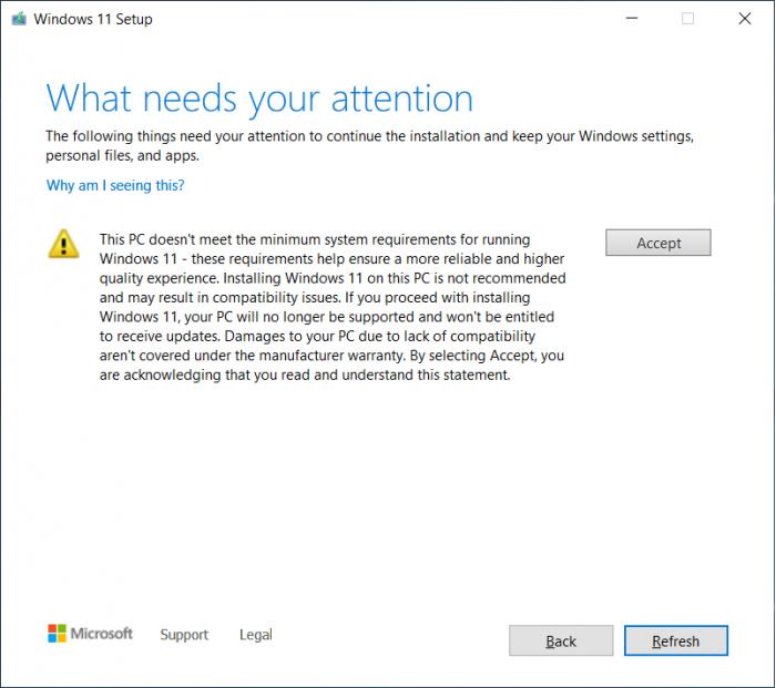 微软为不支持的PC提供Windows 11 TPM绕行安装方案