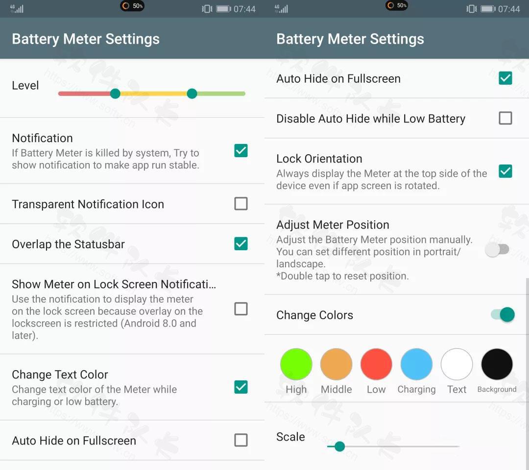Battery Meter Overlay Pro v3.6.1破解专业版【安卓版】