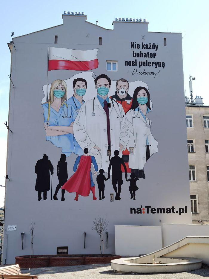 全球新冠肺炎疫情下世界各地的街头涂鸦艺术插图(21)