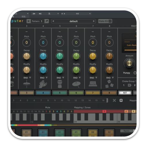 Sugar Bytes DrumComputer 1.0.0 破解版 – 合成鼓机音频插件