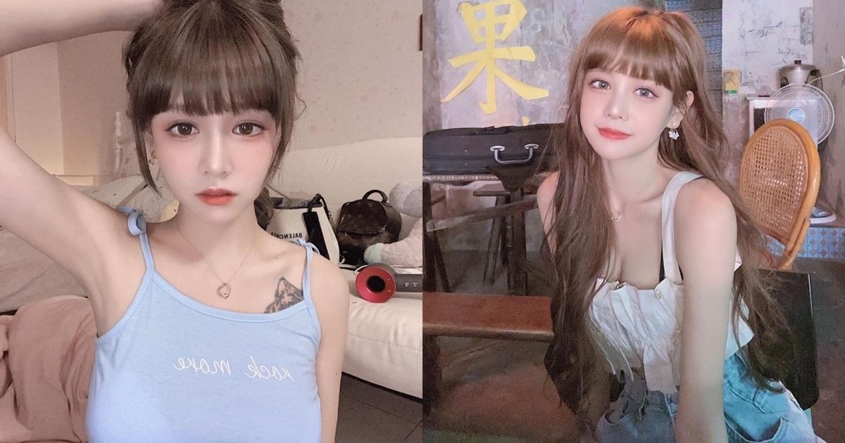「大眼萌妹」王依渟甜美如芭比娃娃,进军大马组女团,根本台湾小Lisa!