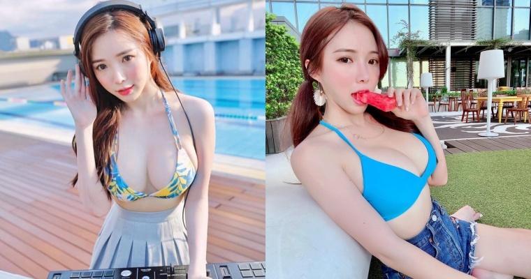 素颜也漂亮!百大DJ女神「蓝星蕾」公开卸妆后真实长相…全场惊赞:完全没差