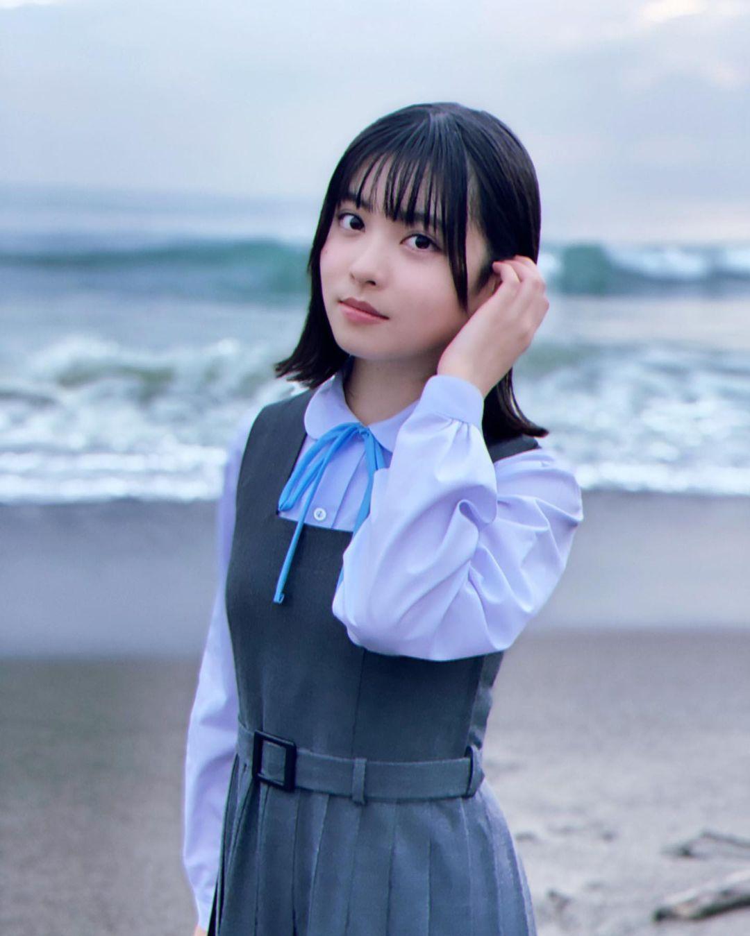 邻家妹妹TOWAKO婴儿肥小脸软萌 气场亲和力十足 养眼图片 第4张