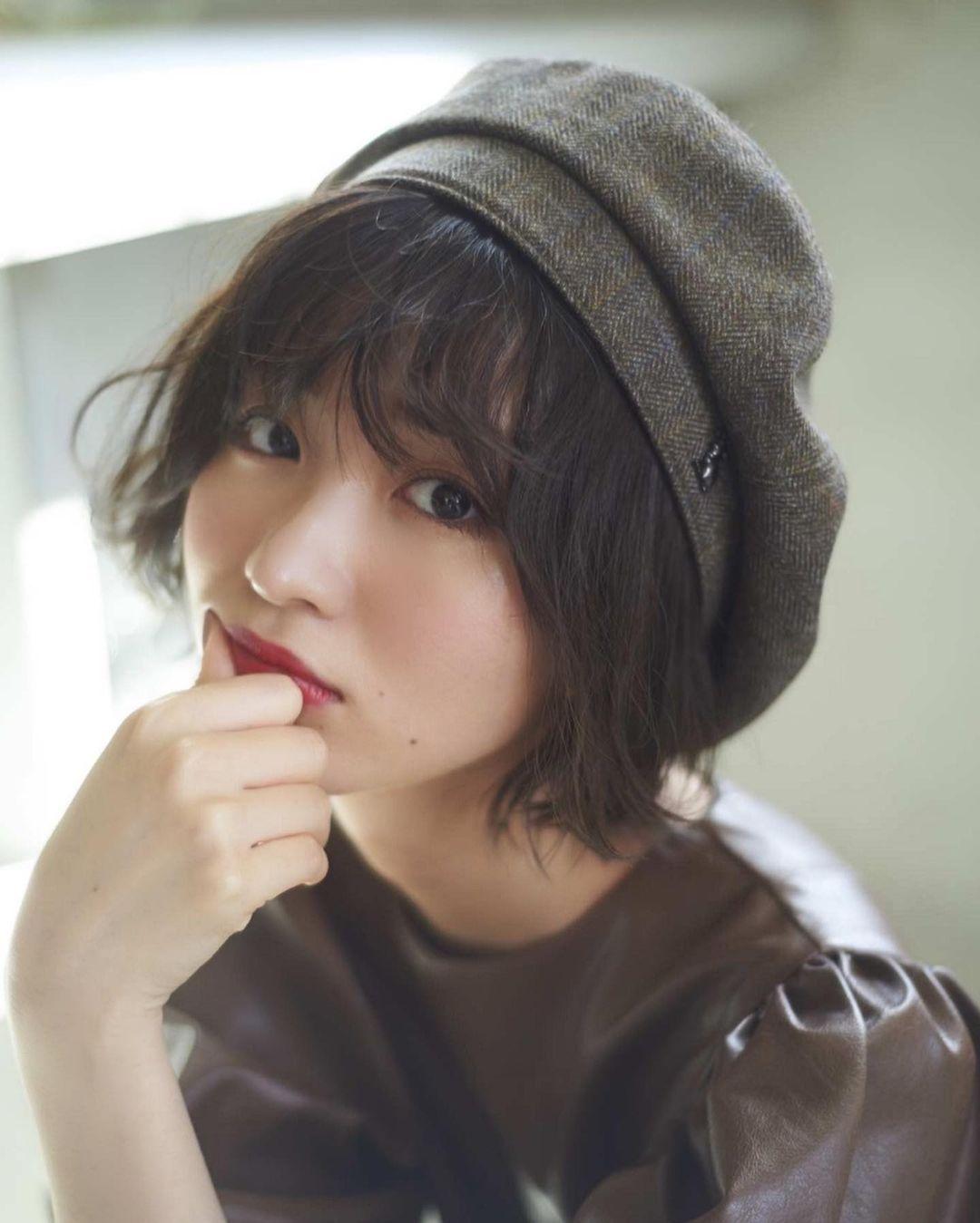 日系时尚杂志模特冈崎纱绘清甜笑容亲和力十足完全就是女友理想型 网络美女 第13张