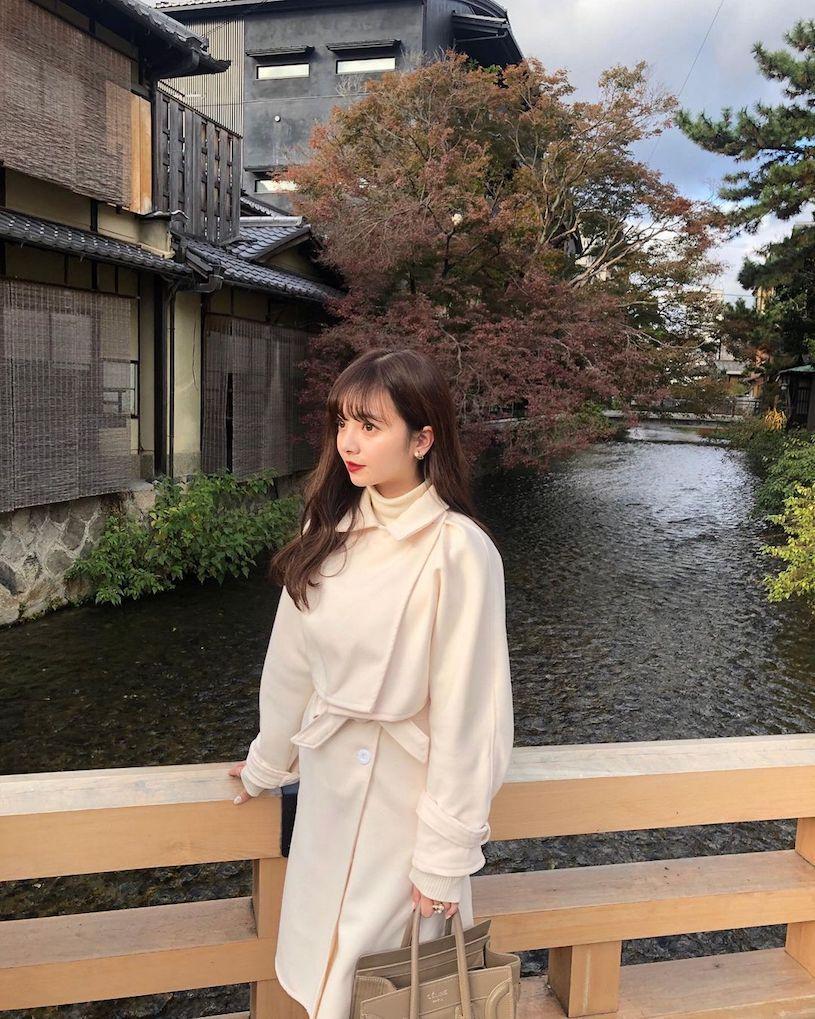 横山纱弓穿和服进行生日之旅,萌萌的脸蛋脸蛋好可爱!-新图包