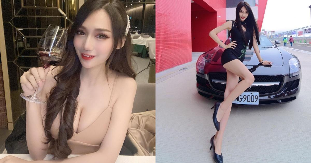 腿控收割机!展场车模「Vicky邵婷」拥有114cm逆天长腿!-福利巴士