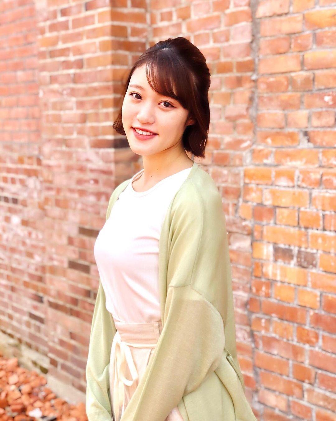 图片[5]-天菜开朗女神「王林」九头身曲线根本行走衣架如天使般「露齿灿笑」温暖又治愈人心-妖次元