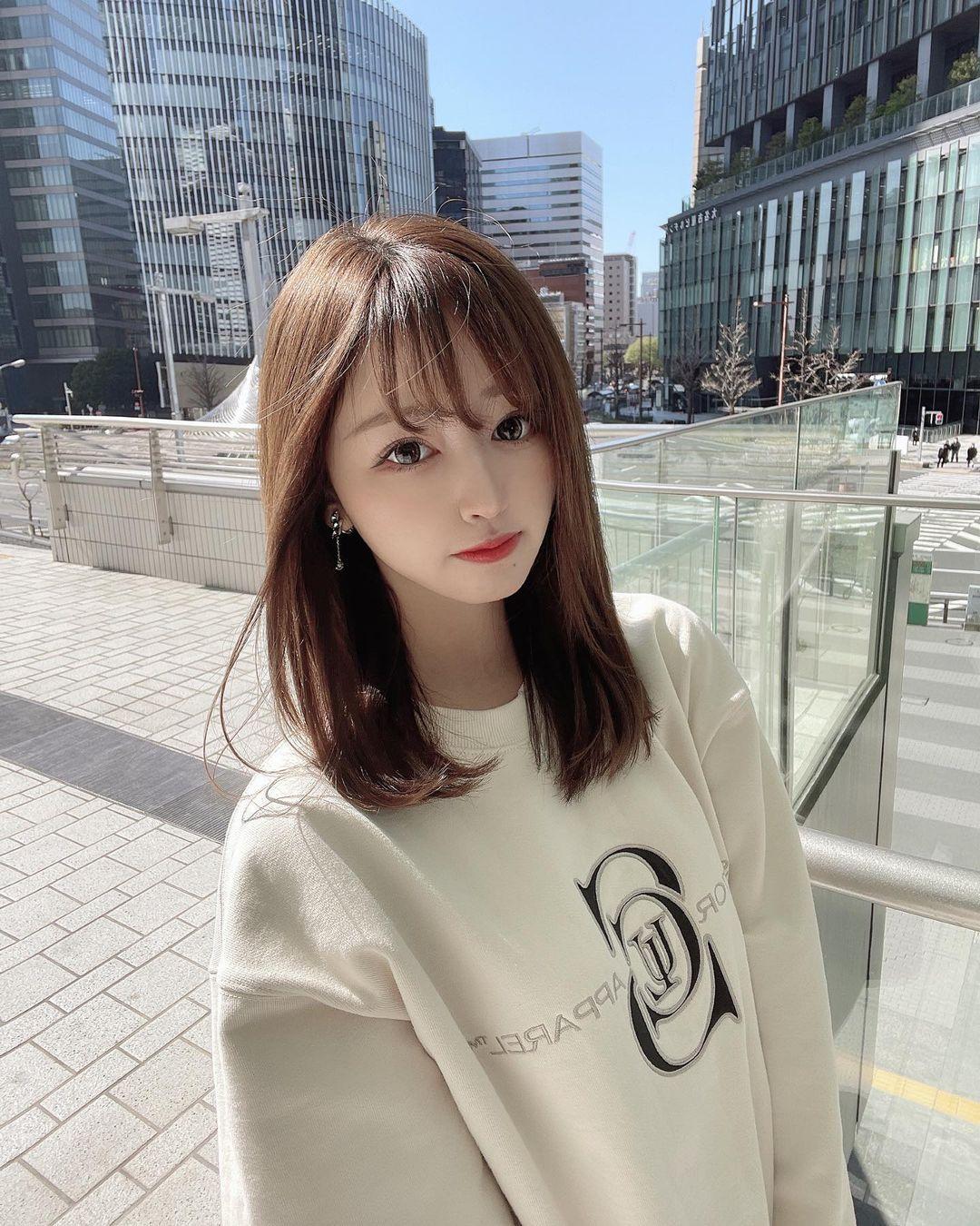 正翻了.名古屋「美女大学生」甜美又有气质,纤细小蛮腰超迷人. 日本美女 邻家女孩 美少女 养眼图片 第8张