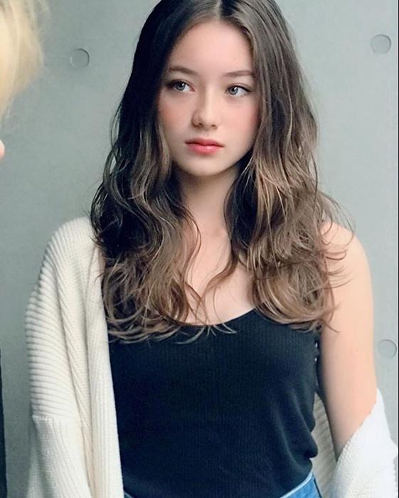 混血美少女樱克尔奇《Sakura Kirsch》,奇迹的13岁!-新图包