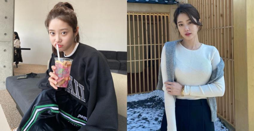 韩国甜甜小姐姐身材超会藏根本是「神隐少女」 网络美女 第1张