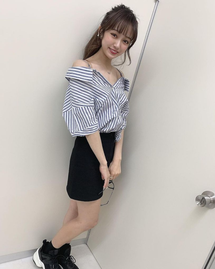 卡哇依!甜美女大生「三田萌日香(みたもにか)」,萌萌的学生魅力好吸粉!-新图包