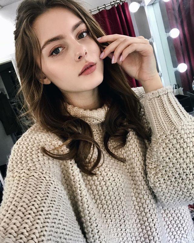 [正妹]完美比例天使脸孔[白俄罗斯女模]内衣广告网友直呼好仙 养眼图片 第34张