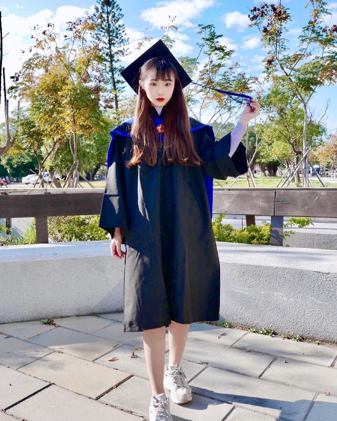 今年最甜美毕业生元智大学资管女神黄宣慈活泼可爱太圈粉啦 网络美女 第2张