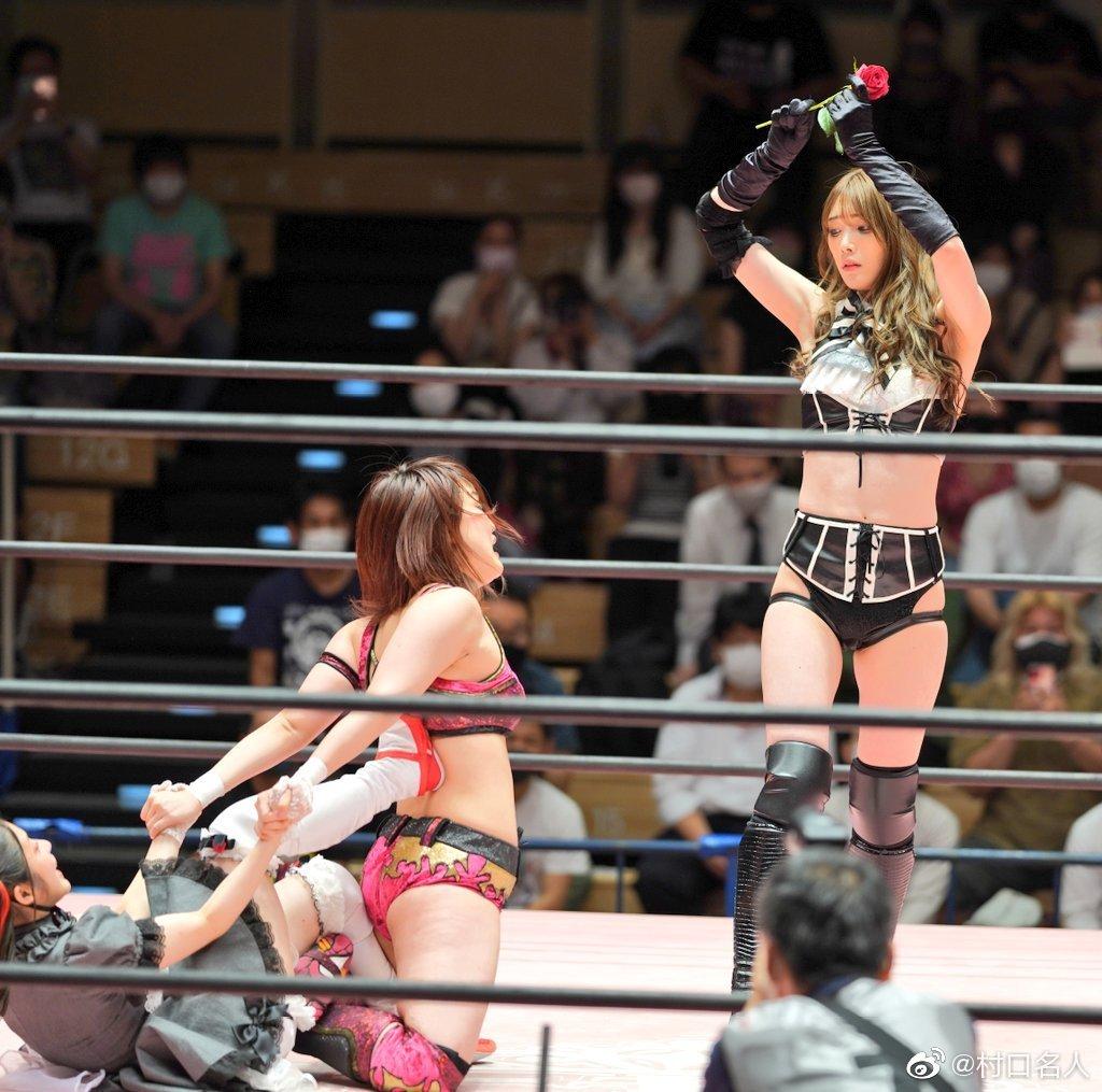 日本美女摔角选手《赤井沙希》华丽外型号称「摔角界林志玲」!-新图包