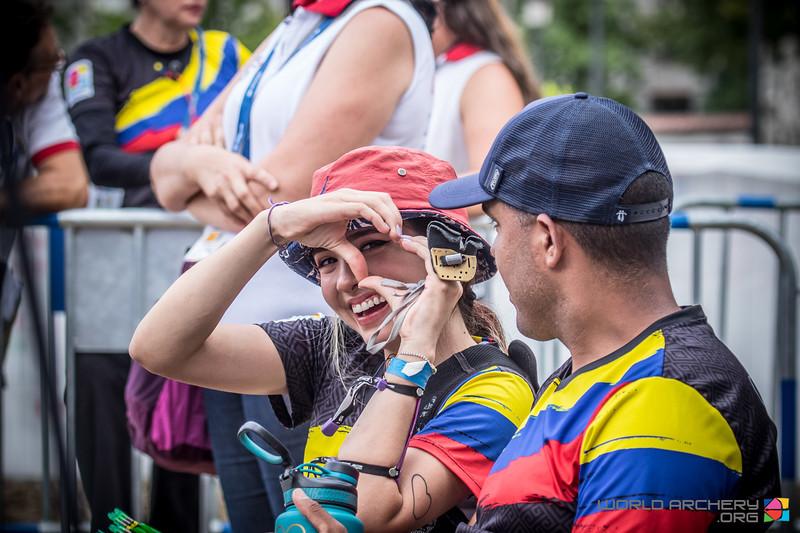 [正妹]射的是穿心箭 东京奥运超正[哥伦比亚女神射箭手]一拉弓就射中网友们的心 养眼图片 第2张