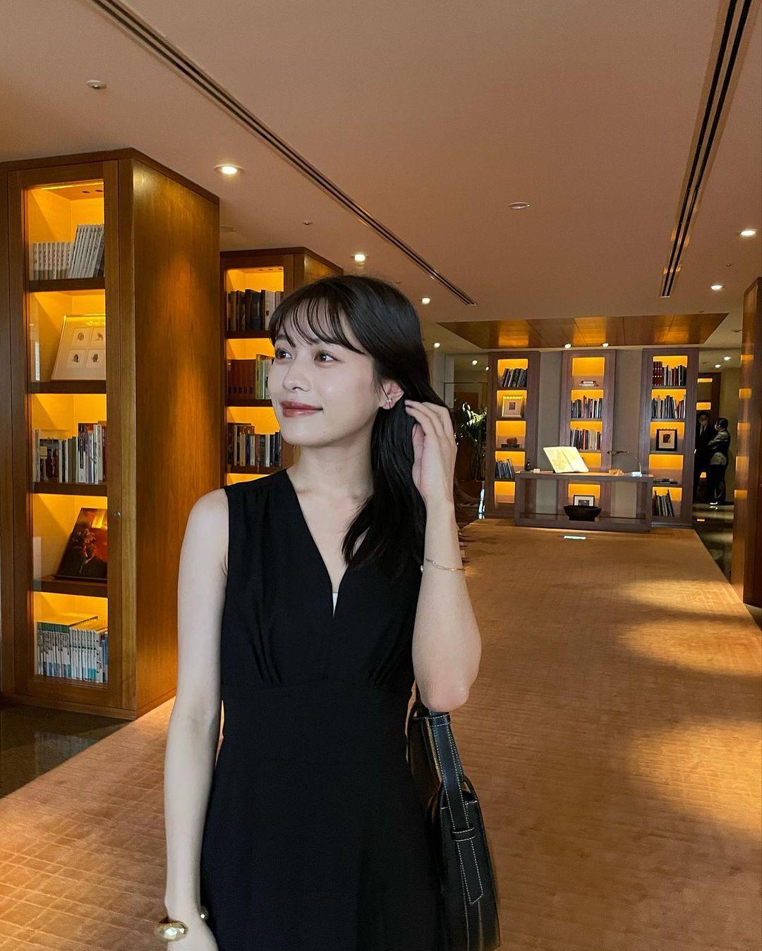 东京私立名校毕业的美女时装设计师日本妹子的清新甜美气质真的好可爱 养眼图片 第10张