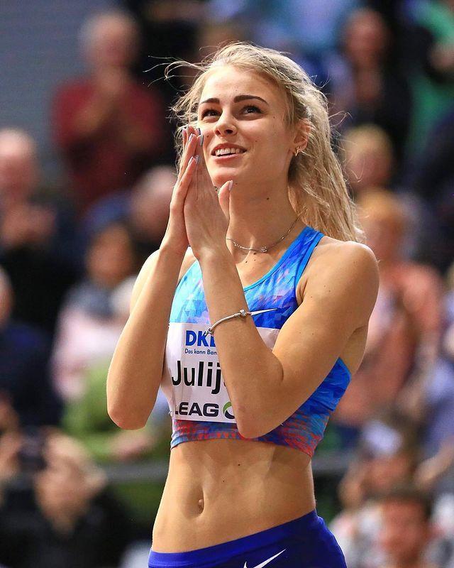 [正妹]心脏跟着她跳动 [Yuliya Levchenko]跳高正妹高颜质迷倒田径场 网络美女 第6张