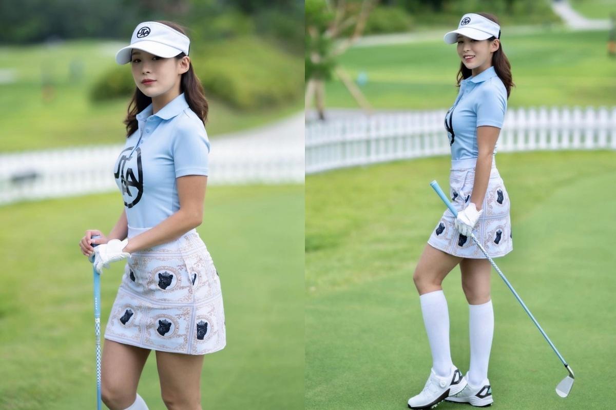 韩国高尔夫正妹Becky 狂吸 33 万粉丝好身材更让人心动 养眼图片 第6张