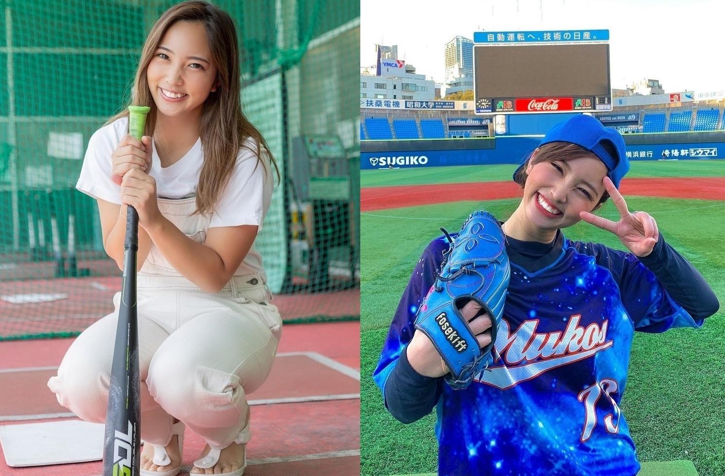 正妹棒球YouTuber「笹川萌」神之左腕轻松飙出120公里 灿笑露虎牙更是萌到一个犯规-喵喵女