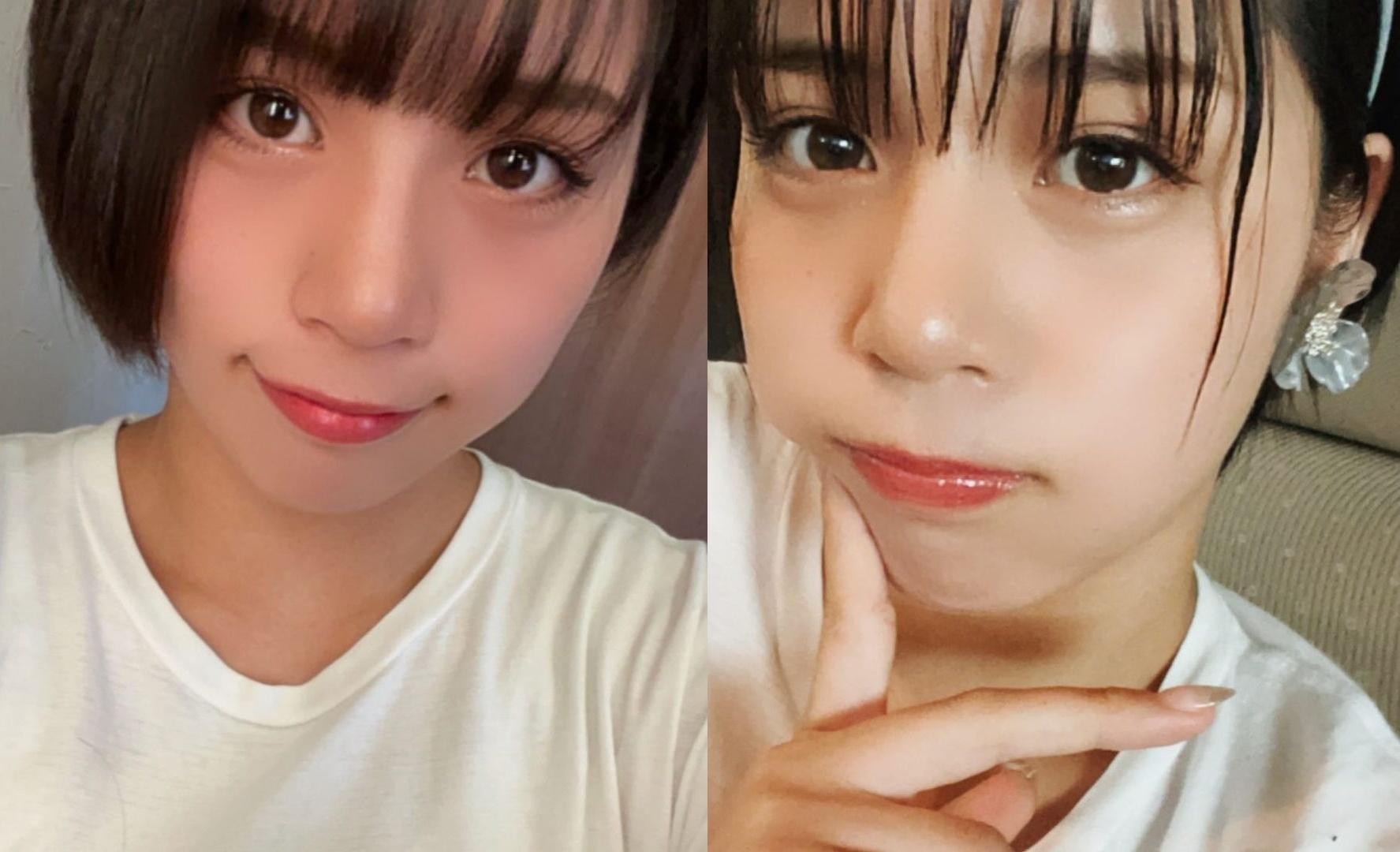 选美比赛冠军 短发高中妹山冈雅弥16岁青春 深邃卧蚕双眼彷佛随时在放电