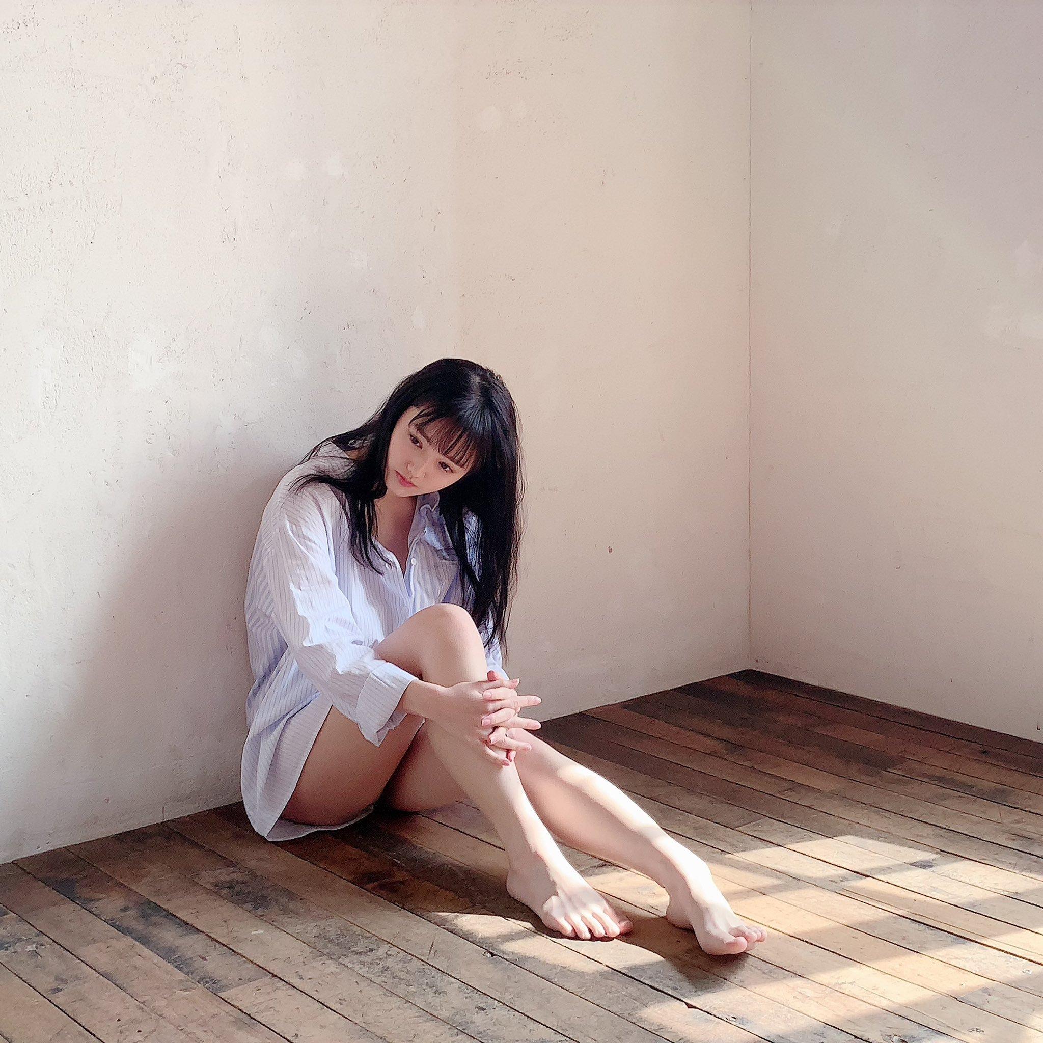 久等了20岁安藤笑樱睽违近一年推出写真 养眼图片 第5张