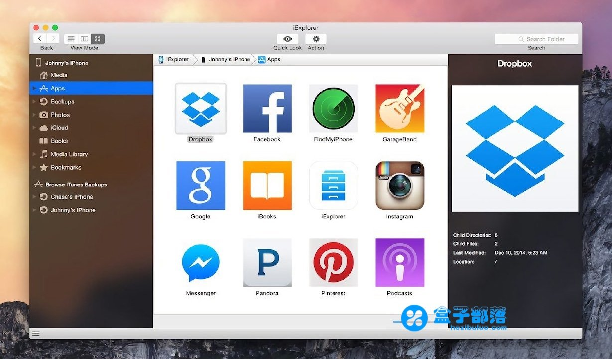 iExplorer v4.2.6 一款优秀强大的 iOS 资源管理工具