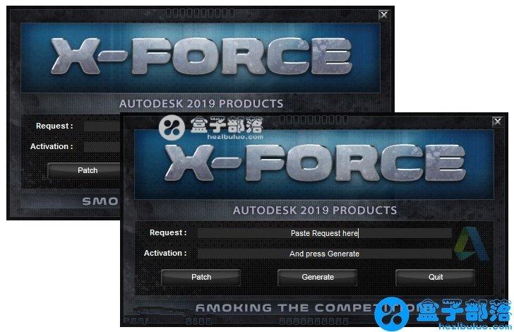 Autodesk 2020 XFORCE KeyGen 欧特克系列软件通用注册机