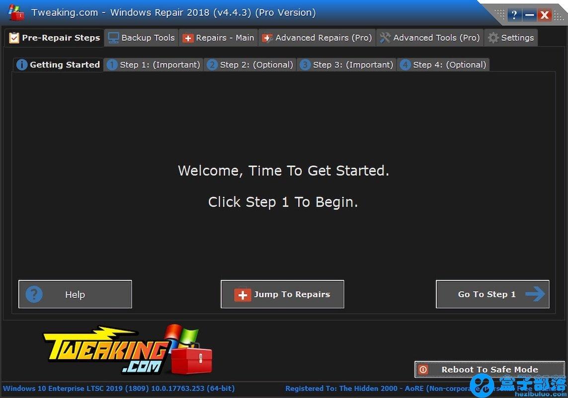 Windows Repair Pro v4.4.60 系统修复工具中文破解版