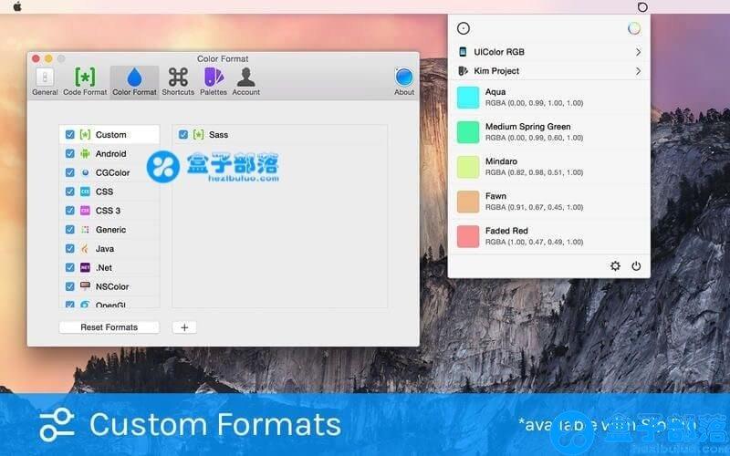 Sip Pro 1.1.3 MAC 平台上的非常不错的屏幕取色软件工具