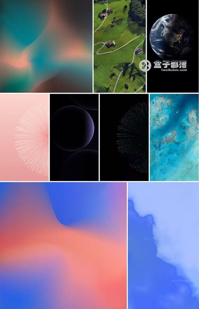 谷歌手机 Pixel 3 全套高清壁纸下载 (动态/静态)