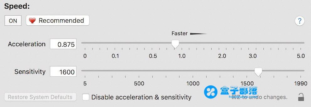 SteerMouse v5.3.3 万能的数比鼠标自定义设置工具