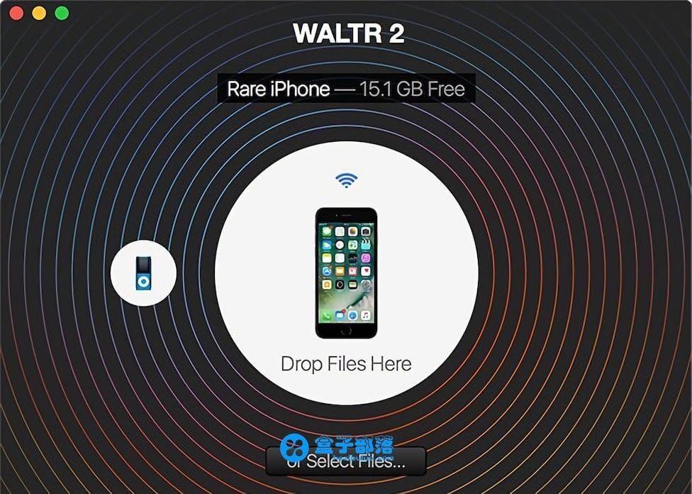 Waltr 2.6.15 快速传送文件到移动端的Mac文件管理软件