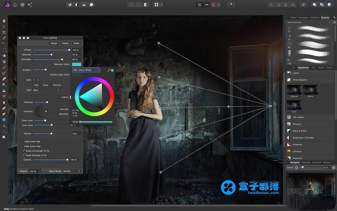 Affinity Photo 1.7.0.106 功能齐全、真正专业的照片编辑工具