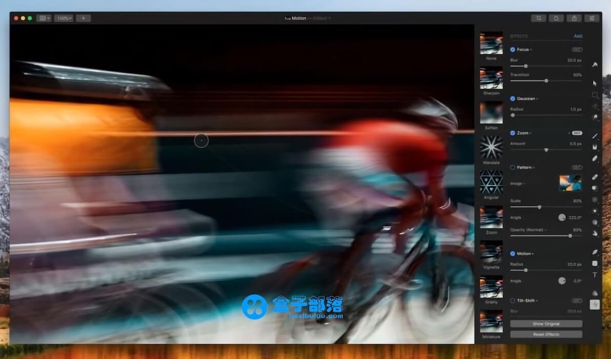 Pixelmator Pro 1.2.1 专供于苹果 Mac 平台的专业图像处理软件