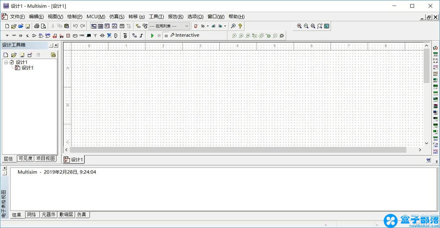 Multisim 14.0 电路功能测试虚拟仿真软件